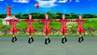 北京密云雪山飞燕舞蹈《永远的赞歌》原创附教学口令分解动作演示