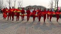 红井广场舞《拜新年》附正背表演口令分解动作分解教学