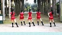 三亚美舞团《向上攀爬》回顾经典附教学正背面演示及口令分解动作教学和背面演