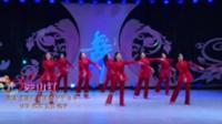 北京杨艺广场舞队广场舞 映山红 表演 团队版