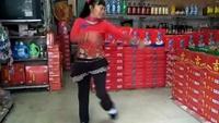 珠秀舞蹈《心里藏着你》编舞春英正背面演示及口令分解动作教学