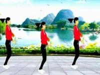珍儿广场舞《拥抱你离去》原创健身舞 正背面演示
