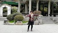 周思萍廣場舞《扎嘎啦》原創附正背面教學口令分解動作演示