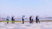 湖南常德鼎城区嘉美广场舞队 最美天下 表演 个人版 正背面演示及慢速口令教学