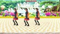 慢城霞依廣場舞《大風歌》原創含背面教學附正背表演口令分解動作分解教學