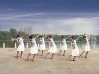 安庆轻翎广场舞 好一朵女人花 表演