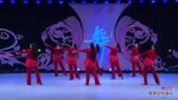 北京杨艺广场舞队广场舞 映山红(背身) 表演 团队版