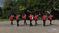 长青街舞之韵舞蹈队三队舞蹈 一曲红尘 表演 团队版 经典正背面演示及口令分解动作教学
