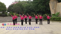 柳州市鱼峰区佳木斯舞动年华  草原祝酒歌 表演 团队版 原创附教学口令分解动作演示