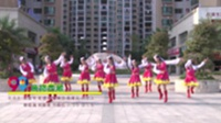 辣妈园艺广场舞队广场舞 亲吻西藏 表演 团队版