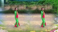 赣州好姐妹健身队《新浏阳河》习舞:秀儿经典正背面演示及口令分解动作教学