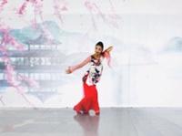 北京艺莞儿广场舞 《再唱洪湖水》 正背表演与动作分解 个人版