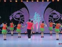 藝子軍廣場舞 五環之歌 背面展示 正背面演示及口令分解動作教學