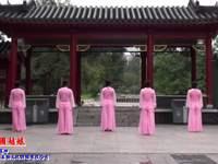 辽宁云淡风轻广场舞 中国姑娘 背面展示