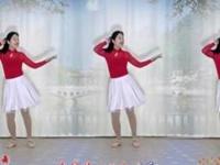 林州芳心广场舞《曼丽》简单欢快附教学附正背面口令分解教学演示