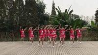 成都莉莎广场舞《舞动中国》队形版排舞附教学及背面附正背面口令分解教学演示
