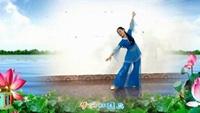 广西灵山曹曹广场舞《再唱洪湖水》正反面 117完整版演示及分解教学演示