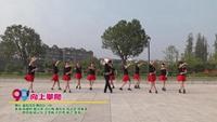 襄陽風影舞蹈隊一隊廣場舞  向上攀爬 表演 團隊版 口令分解動作教學