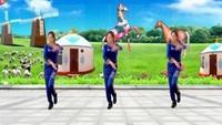 裕隆廣場舞《風情萬種》編舞:周周完整版演示及口令分解動作教學