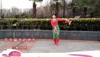 合肥阿果广场舞 东北偏北的地方 编舞:茜茜老师口令分解动作教学演示