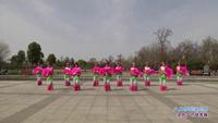 南阳市梦金园珠宝民俗广场舞 八月桂花遍地开 表演 口令分解动作教学