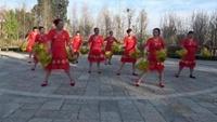澂江广场舞映山红沙坝广场舞队《母亲是中华完整版演示及口令分解动作教学