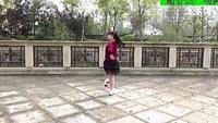 謝春燕廣場舞(誰能讀懂網絡里的愛)正背面演示及口令分解動作教學和背面演