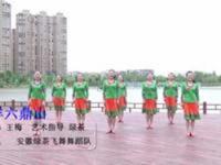 安徽绿茶飞舞广场舞 吉祥六鼎山 表演