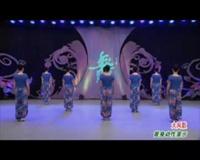 陜西西藝丹鳳舞蹈培訓中心廣場舞 大風歌(背身) 表演 團隊版