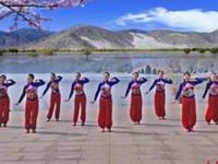 应子广场舞《在那不远的地方》原创舞蹈 附正背面口令分解教学演示
