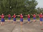 陕西洛川黄章现头舞蹈 闯码头 表演 正背面演示及慢速口令教学