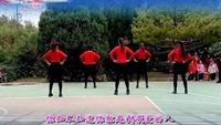紅綢炫舞(紅稠)《最幸福的人dj》團隊合屏紀念版經典正背面演示及口令分解動作教學