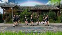 四川蓉蓉廣場舞《注滿舞池》12變隊形編舞花花老師口令分解動作教學演示
