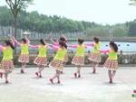 靖安俏佳人廣場舞 娜魯灣情歌 背面展示 正背面演示及口令分解動作教學和背面演