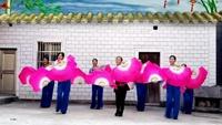 江西鹰潭市精彩人生戏儿广场舞-山里人乐的好潇洒正背面口令分解动作教学演示