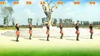 玉琴飛揚廣場舞〖雷山我的愛〗原創16步水兵舞附教正背面演示及慢速口令教學
