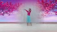 蚌埠曲院風荷廣場舞(個人版)《桃花美桃花開》口令分解動作教學演示