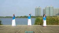 舞之恋小分队《月落泉》  编舞:应子正背面演示及口令分解动作教学和背面演