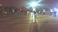 杨英广场舞《大家一起来》学跳正背面演示及口令分解动作教学