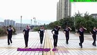 謝春燕廣場舞(女人像個球)原創附教學口令分解動作演示