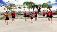 汕頭溪西健身隊《小蘋果》編舞:可馨經典正背面演示及口令分解動作教學