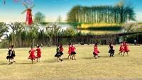 杭州依依舞蹈双人舞对跳《唱着情歌流着泪》原创口令分解动作教学
