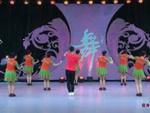 藝子軍廣場舞 五環之歌 背面展示 正背面演示及慢速口令教學