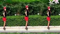 麗麗廣場舞a《草原妹妹》原創16步附分解動作正背面演示及口令分解動作教學和背面演