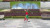 太原魅力無限廣場舞《小河淌水》編舞:饒子龍正反面演示及分解動作教學
