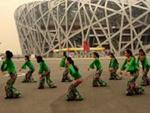 王梅舞蹈 新浏阳河 表演(团队版) 原创附教学口令分解动作演示