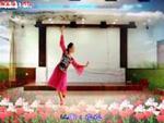 王梅廣場舞 妹妹比花俏 正背表演與動作分解 正反面演示及分解動作教學