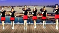 汕頭娟子姐妹廣場舞《林中鳥》16步正背面口令分解動作教學演示