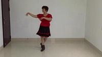 柯荔英廣場舞  《豐收年》經典正背面演示及口令分解動作教學