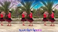 自信的微笑广场舞《公虾米》原创双人对跳附分解正背面演示及慢速口令教学